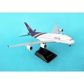 SkyMarks A380-800 Thai Airways HS-TUA 1:200 with Gear and stand