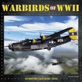 Willow Creek Press Warbirds of World War II Art of Ron Cole 18 month calendar 2018+SALE PRICE+