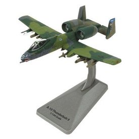 Air Force 1 Model Co. A10A Thunderbolt II 74FS 23FW EL Smithsonian Series 1:100 with stand
