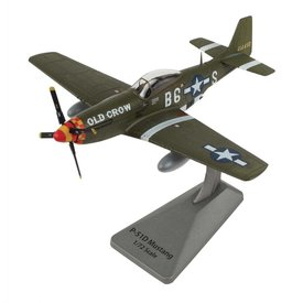 Air Force 1 Model Co. AFONE P51D Mustang Bud Anderson Old Crow 363FS 357FG B6-S Smithsonian Series 1:72