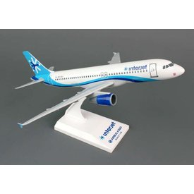 SkyMarks A320 Interjet 1:150 with stand