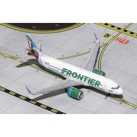 Gemini Jets A320neo Frontier New Livery 2014 Champ the Bronco N307FR 1:400