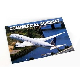 Daron WWT Commercial Aircraft Calendar 2018 (SPARTA)**o/p**
