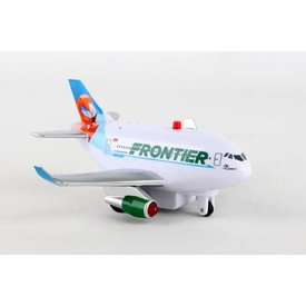Daron WWT Toytech Pullback Frontier New Livery Flo the Flamingo with lights & sounds