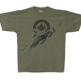 Labusch Skywear CF-18 Hornet Vintage Heather T-Shirt