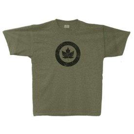 Labusch Skywear RCAF Classic Roundel Vintage Heather T-Shirt