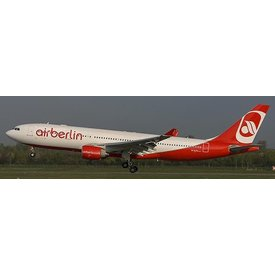 JCWINGS A330-200 AIR BERLIN  D-ALPA 1:200 with Stand