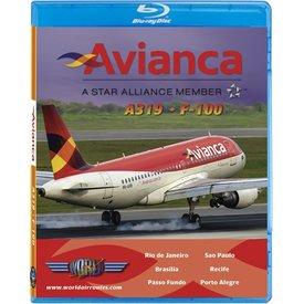 justplanes JUSTP BLU AVIANCA A319 F100 (NO DVD)