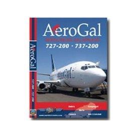 justplanes DVD Aerogal B727-200 B737-200  **o/p**SALE***