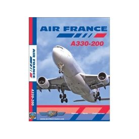 justplanes DVD Air France A330-200 Boston, Paris Chateauroux,  **o/p**