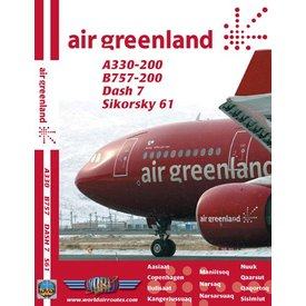 justplanes DVD Air Greenland A330-200, B757-200, dash7, S61**o/p**