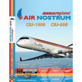 justplanes DVD Air Nostrum CRJ1000 CRJ900 Iberia regional  **O/P**