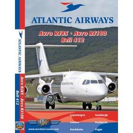 justplanes DVD Atlantic Airways Avro RJ85, Avro RJ100, Bell 412 **o/p**