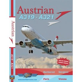 justplanes DVD Austrian A319 A321  **o/p**