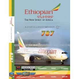 justplanes DVD Ethiopian Airlines B787-8 Dreamliner **o/p**