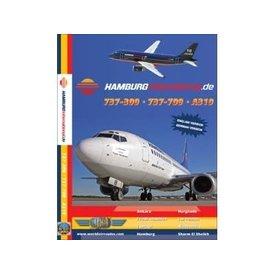 justplanes DVD Hamburg International A319, B737-500, B737-700  **O/P**