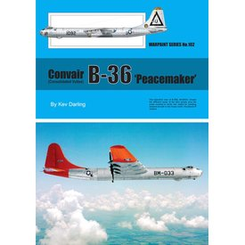 Warpaint Convair B36 Peacemaker:Warpaint#102 Sc