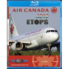 justplanes BluRay Air Canada A319 ETOPS Toronto YYZ - St. Johns YYT- London Heathrow LHR