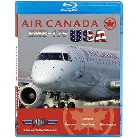 justplanes JUSTP BLU AIR CANADA ERJ175 USA (BLURAY ONLY)