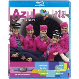 justplanes BluRay Azul ERJ195 ATR72 Ladies in Pink