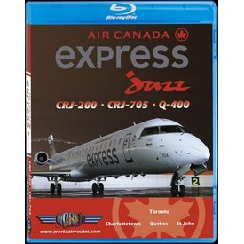 justplanes JUSTP Bluray Air Canada express jazz CRJ200/700/Q400