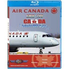 justplanes JUSTP BLU AIR CANADA ERJ190 WINTER OPS