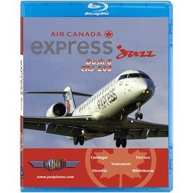 justplanes JUSTP BLU AIR CANADA express Jazz DASH8/CRJ200