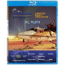 justplanes JUSTP BLU AIR TINDI SKI PILOTS C208,DHC6,DASH7,