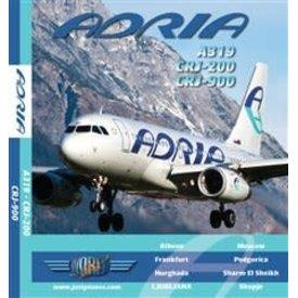 justplanes JUSTP BLU ADRIA A319,CRJ200,CRJ900