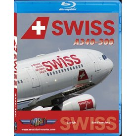 justplanes BluRay Swiss International A340-300 San Francisco SFO