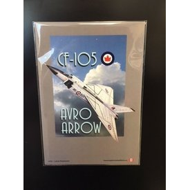 "Magnet Avro Arrow 4""x6"""