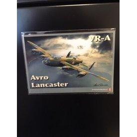 "Magnet Avro lancaster VR-A 4""x6"""