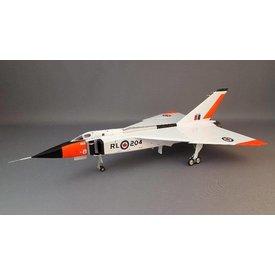 Hobby Master CF105 Arrow RL204 RCAF Day Glow 1:72 Diecast Model