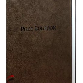 Leather Logbook Aviation Leather (Suede/Distressed)