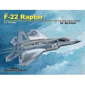 Squadron F22 Raptor: In Action #223 Softcover