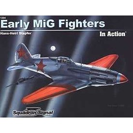 Squadron Early Mig Fighters:In Action #204 Sc