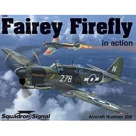 Squadron Fairey Firefly:In Action #200 Sc