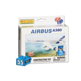 Best-Lock Construction Toys Airbus A380 55 Piece Construction Toy (Legoish)
