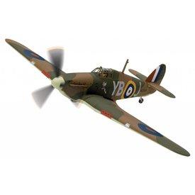 Corgi CORGI Hurricane MkI 17 Squadron RAF Winged Popeye P/O Leonard Walter Stevens Debden N2359 YB-J 1:72 w/stand