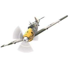 Corgi CORGI BF109E4 6./JG51 OLT Josef PIPS Priller Yellow1 W.Nr.5057 1:72