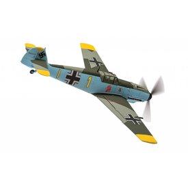 Corgi CORGI BF109E4 9/JG26 Oblt. Gerhard Schopfel,  YELLOW 1 Battle of Britain, Caffiers, France 1940 1:72