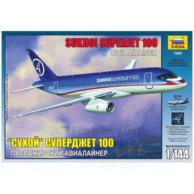 Zvesda ZVESDA SSJ100 Sukhoi Superjet 100 House 1:144