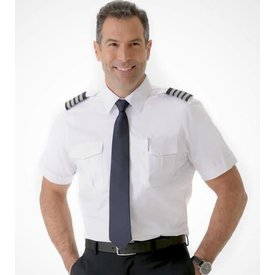 A Cut Above Cirrus Tapered Fit Pilot Shirt