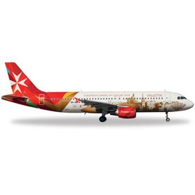 Herpa HERPA A320 Air Malta Valetta: European Capital of Culture  1:200
