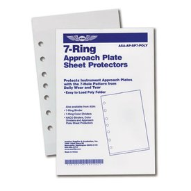 ASA - Aviation Supplies & Academics Approach Plate Protectors - Jeppesen (10)