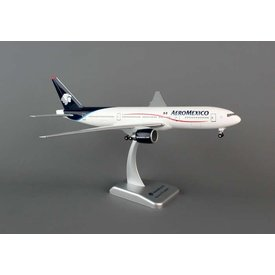 Hogan B777-200 Aeromexico 1:200 with gear+stand