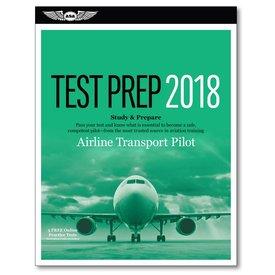 ASA - Aviation Supplies & Academics ATP Airline Transport Pilot Test Preparation 2018 (SC)