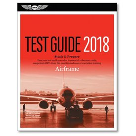 ASA - Aviation Supplies & Academics Airframe Test Guide 2018