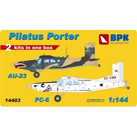 Big Planes Kits (BPK) PORTER PILATUS AU23 PC6 1:144