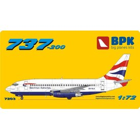 Big Planes Kits (BPK) B737-200 BRITISH AIRWAYS UNION1:72